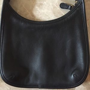Coach Bags - Vintage Coach Mini Ergo Black Leather Purse